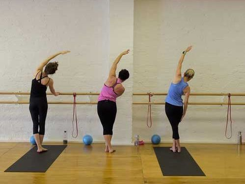 Armature Barre group class at Armature Strength studio