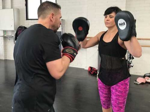 Badass Boxing group classes at Armature Strength studio
