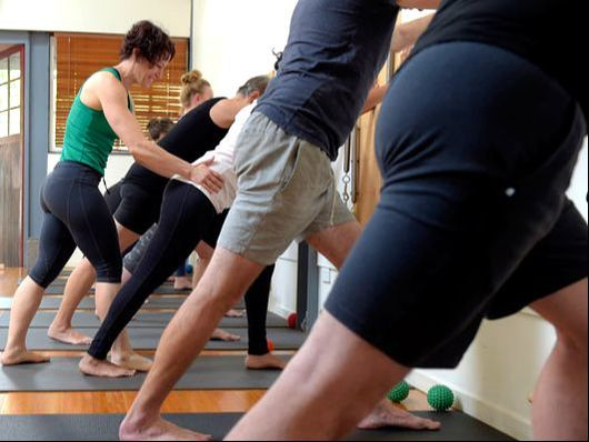 Strength and Stability Pilates Mat Class at Armature