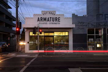 Armature Reformer Studio at 354 Lygon Street